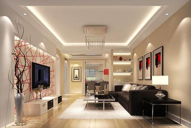 客厅吊顶装修效果图 设计别致让房间更温馨