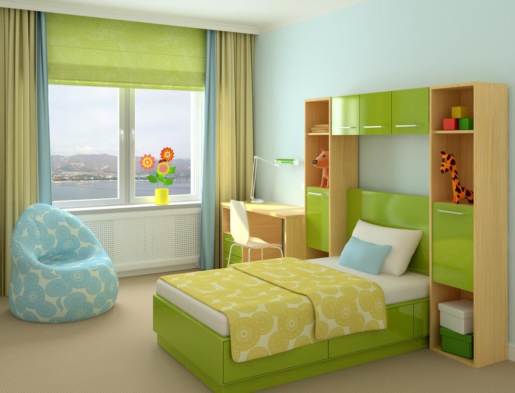 儿童房装修效果图,儿童房装修技巧分享