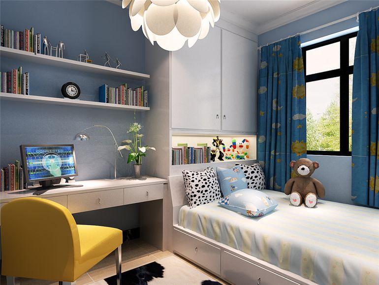 榻榻米儿童房,给孩子舒适自在的成长环境