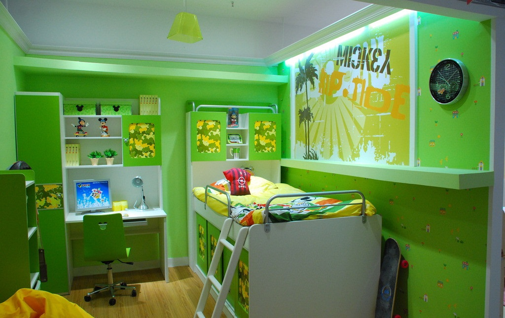 儿童房装修效果图赏析,赶快收藏起来!