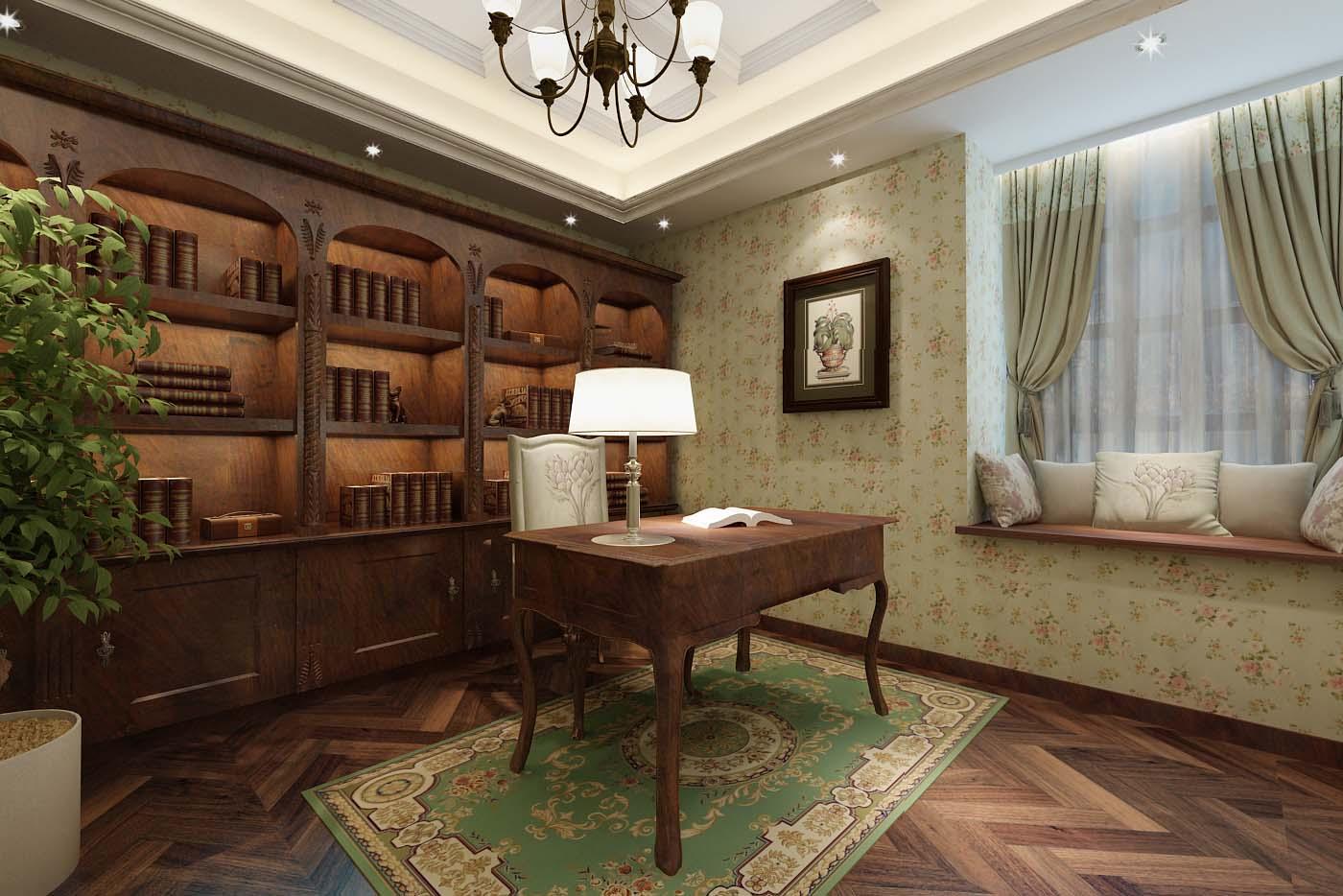 时尚家居书房装修,打造雅致别样生活!