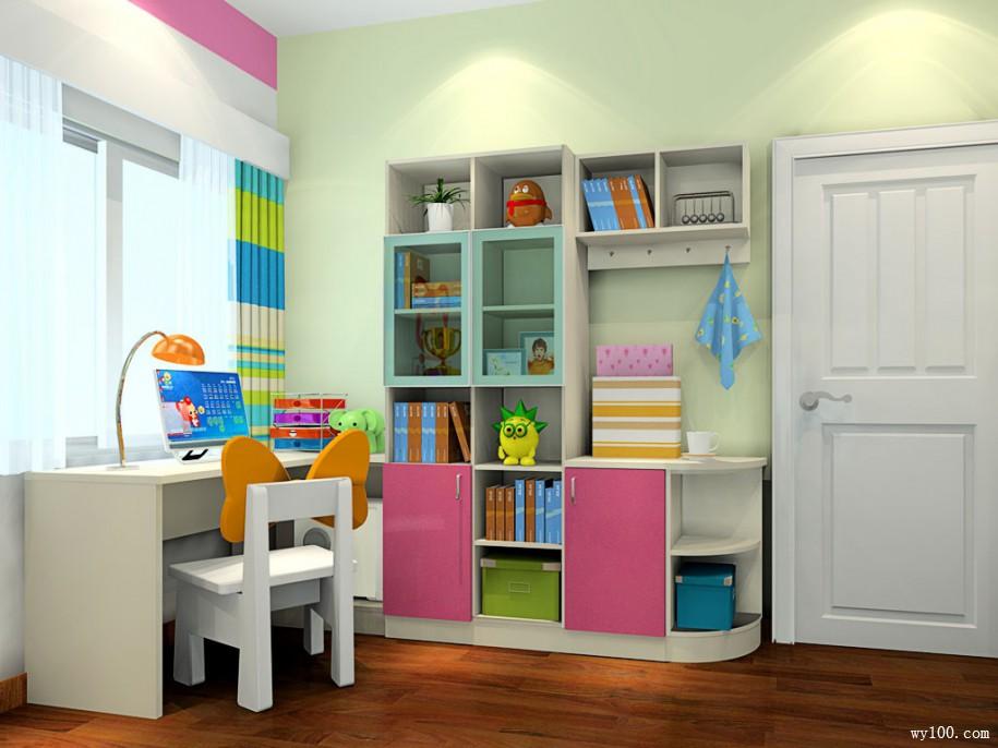 儿童房书柜的种类知多少!