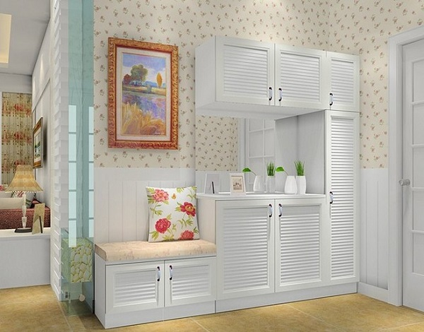 进门玄关鞋柜设计,找个适合自己的!
