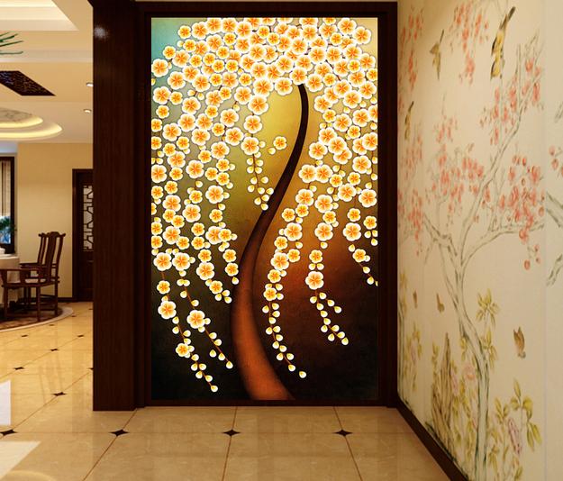 玄关设计-玄关装饰画你会选吗?