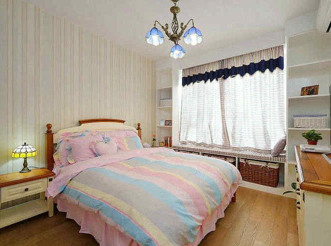 几种不同风格的卧室窗台榻榻米