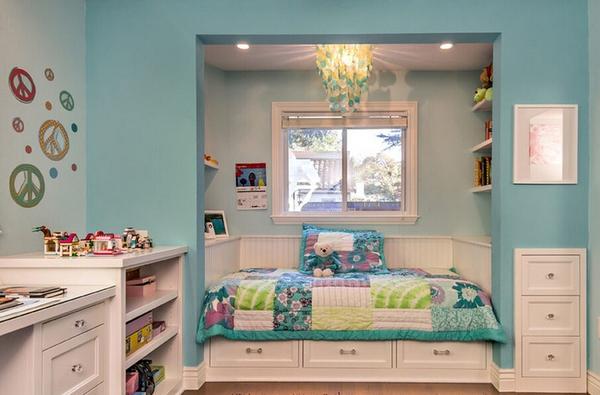 榻榻米儿童房设计,少一点都不行!
