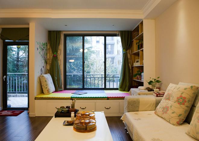 阳台榻榻米书房 书房与卧室功能一举两得