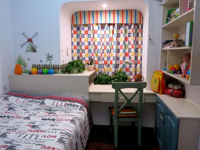 从儿童房效果图看儿童房设计注意事项
