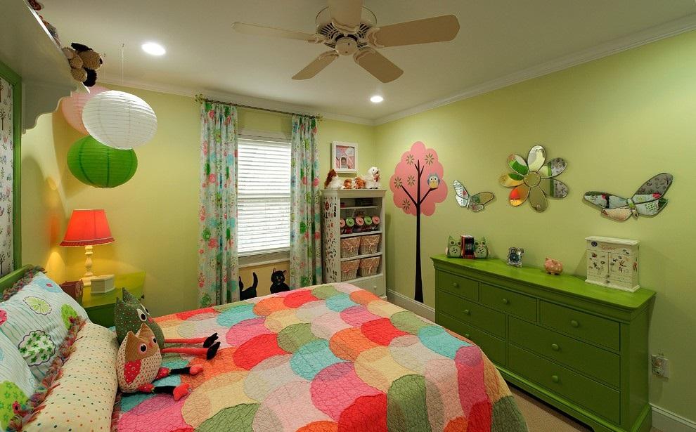 儿童房装修效果图赏析,给予小孩新天地
