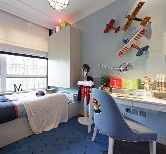 儿童房榻榻米效果图赏析,培养孩子兴趣习惯
