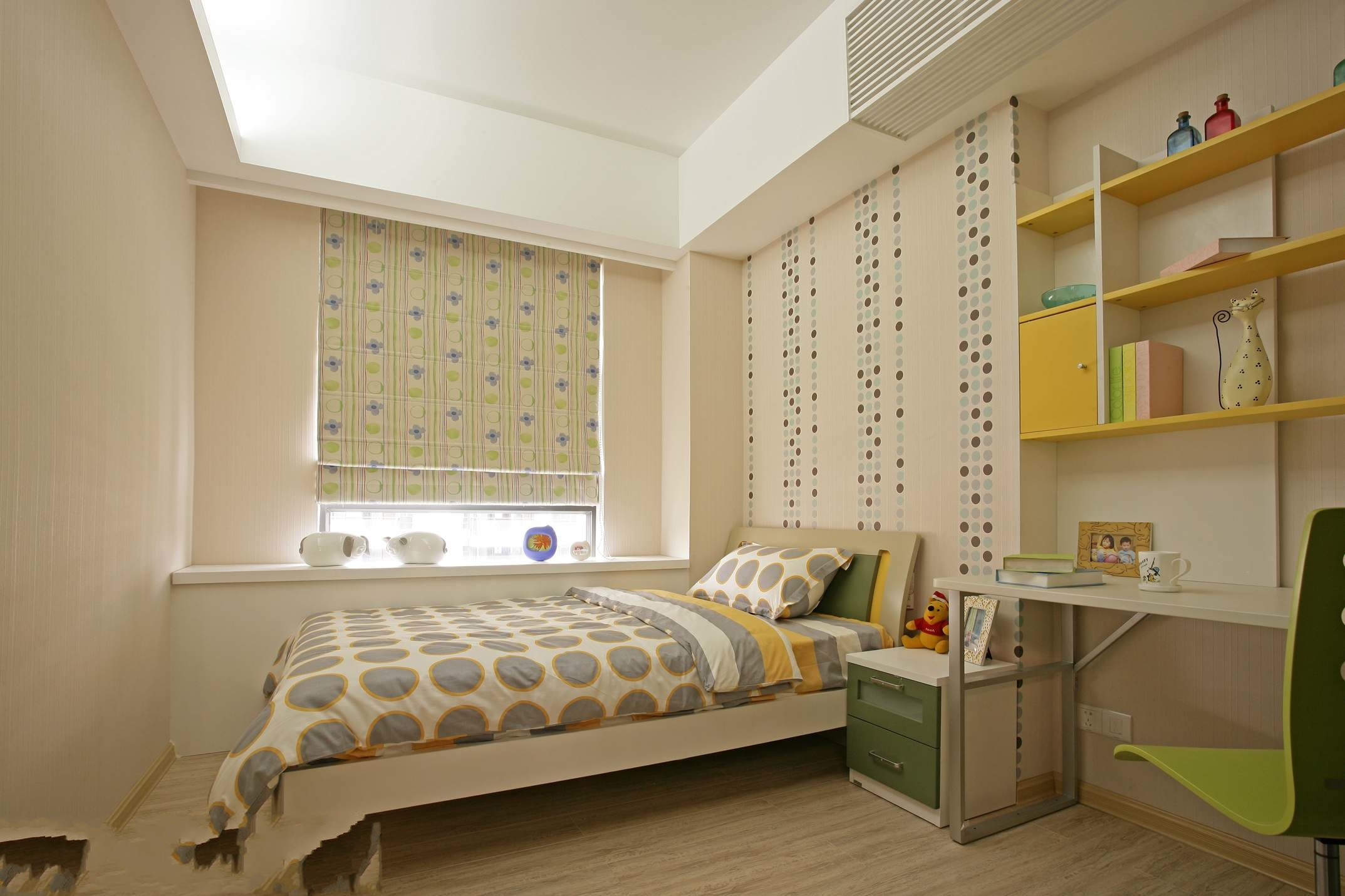 儿童房定制设计,给小朋友定制的温馨空间