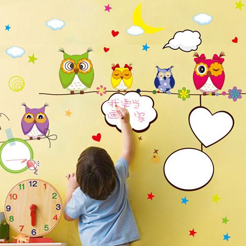 从儿童房装饰画中看出孩子的性格