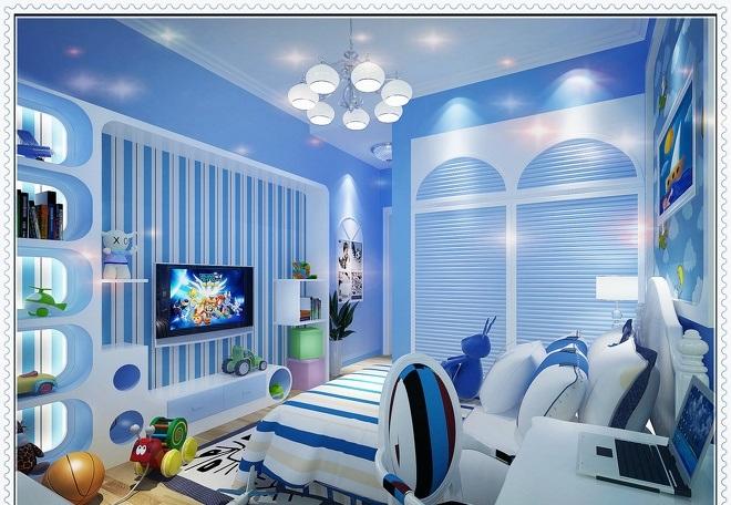 家装儿童房效果图,不同风格不同效果