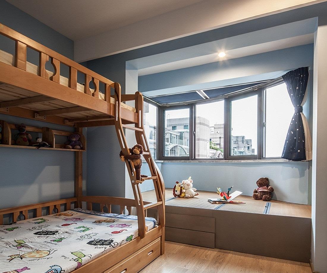榻榻米儿童房效果图,儿童房装修必备