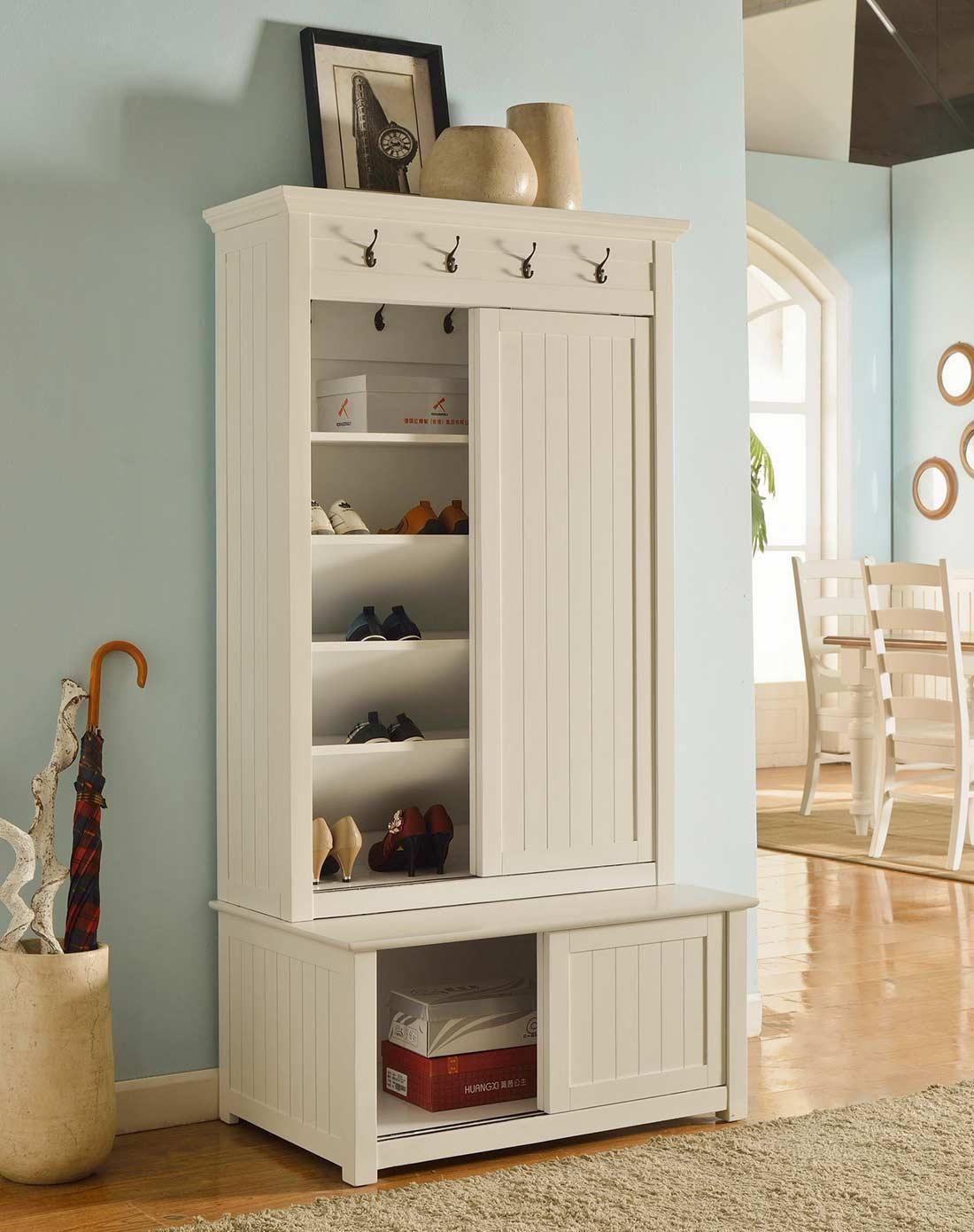 进门玄关鞋柜,哪一种风格才是你的菜?