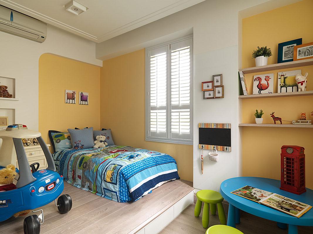 把握儿童房设计原则,美出儿童房装修效果图