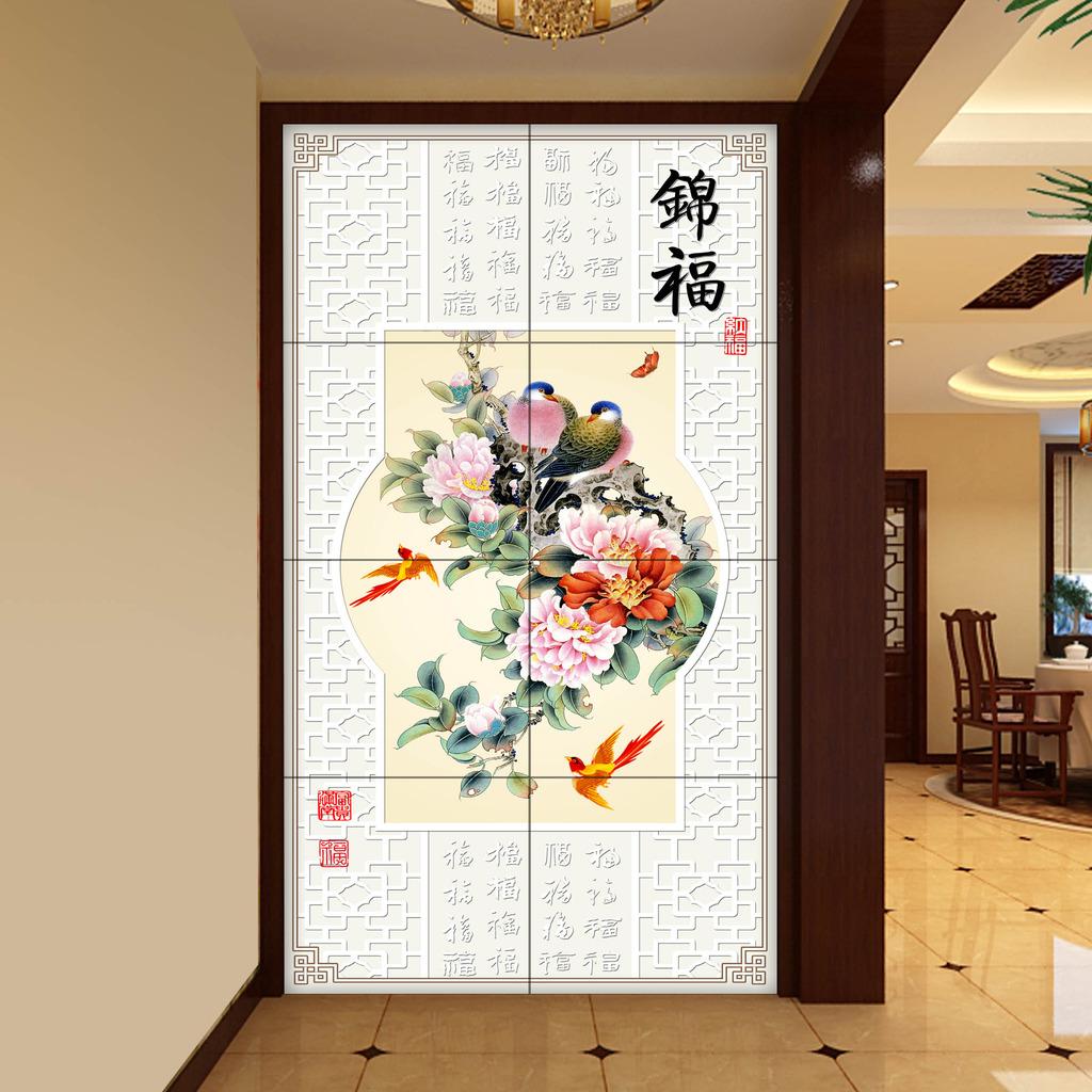 玄关背景墙装饰只能用玄关装饰画吗?