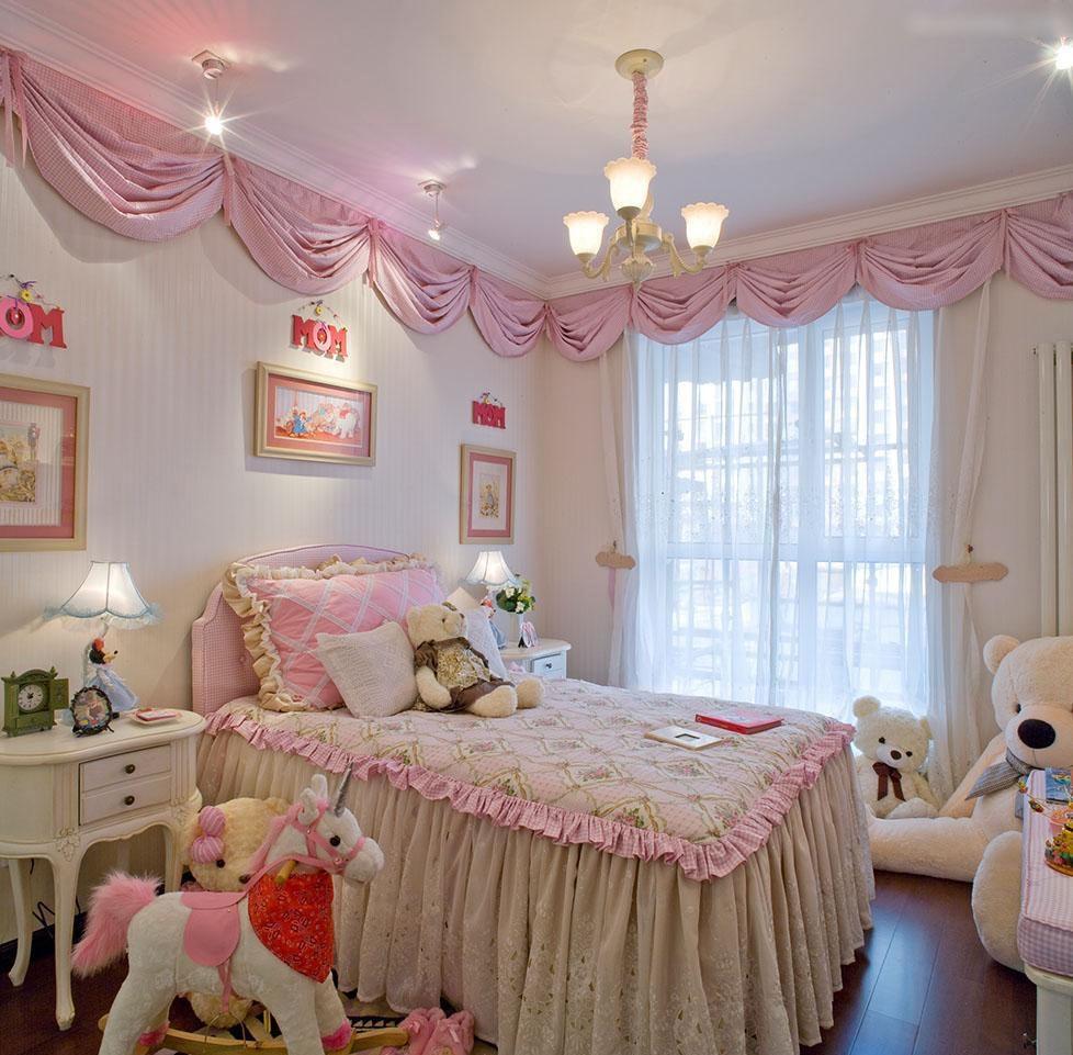 适合女孩的儿童房布置装饰!