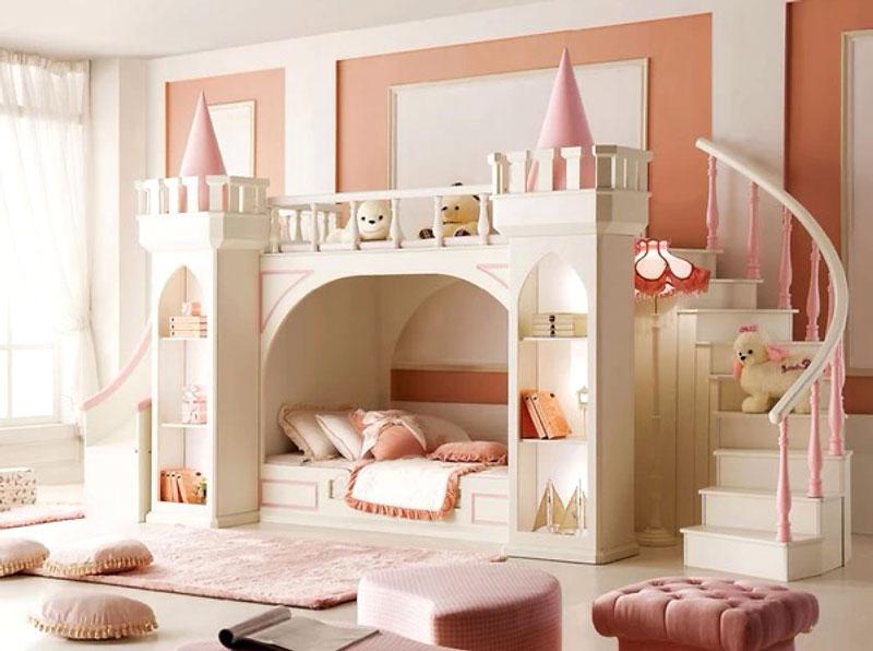 创意儿童房效果图赏析,让孩子想象不是梦!