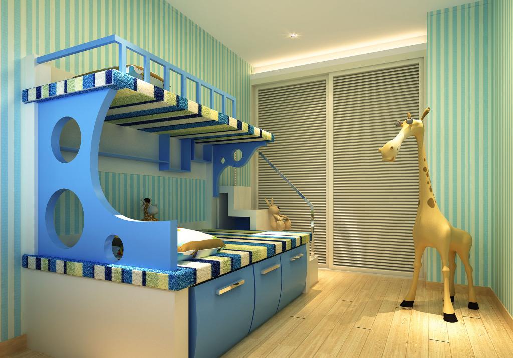 6�O儿童房装修效果图,先看设计窍门再装!