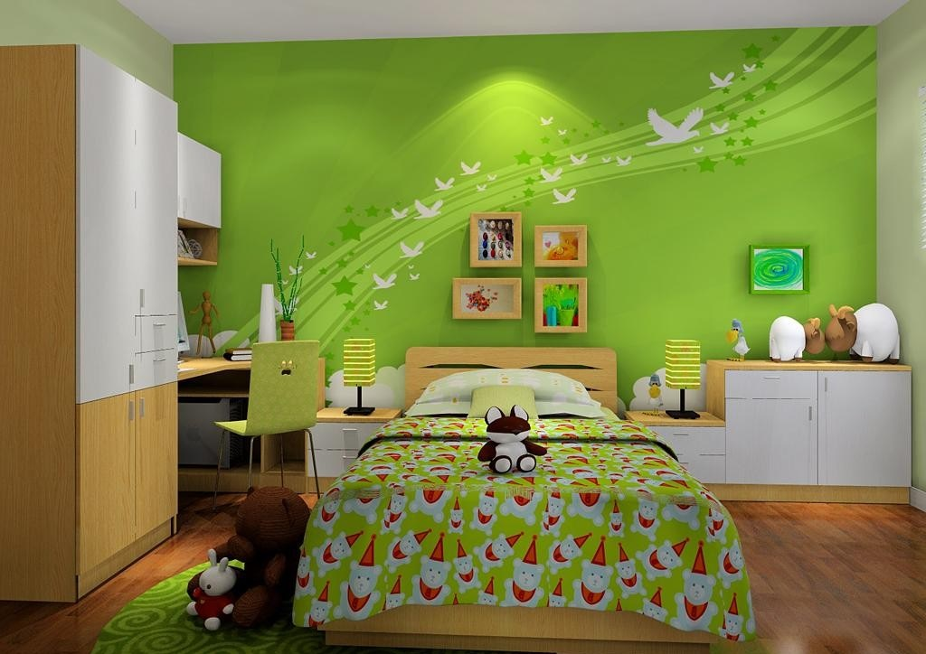 儿童房用什么颜色比较好?