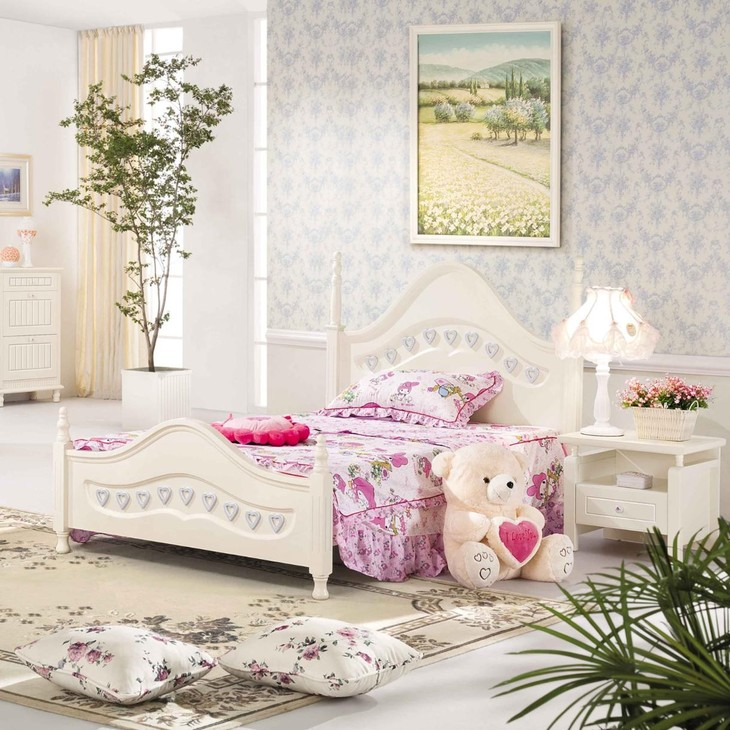 儿童房里儿童床款式选择有哪些?
