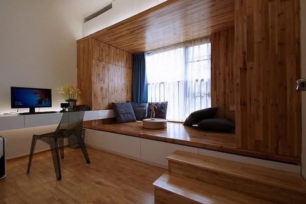 小卧室榻榻米装修图的必要性