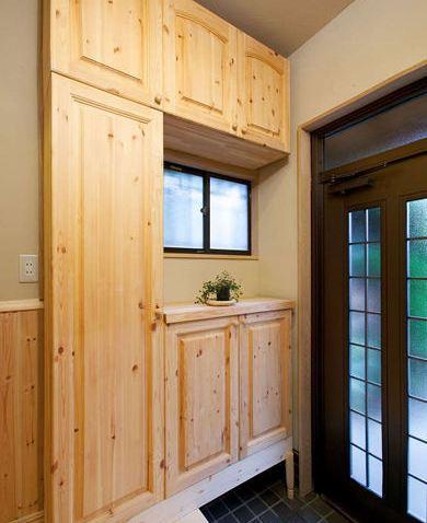 关于实木玄关装修效果图的介绍