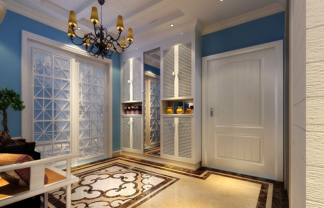 玄关装饰柜,不比玄关装饰画逊色!