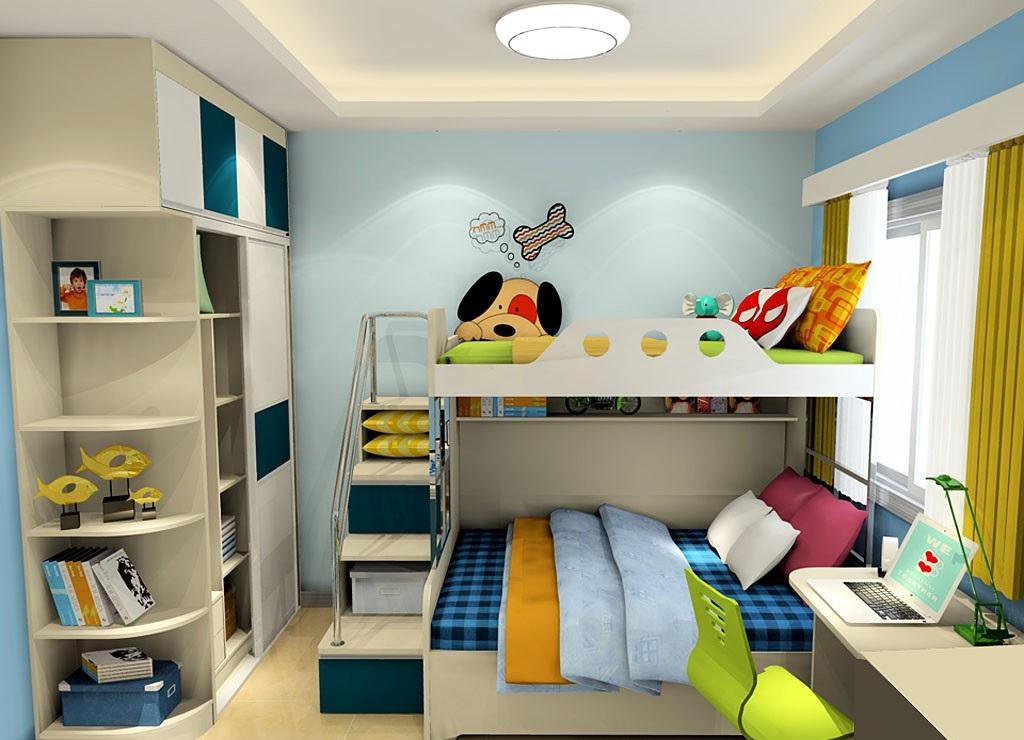 儿童房装修探究,儿童房装修效果图赏析