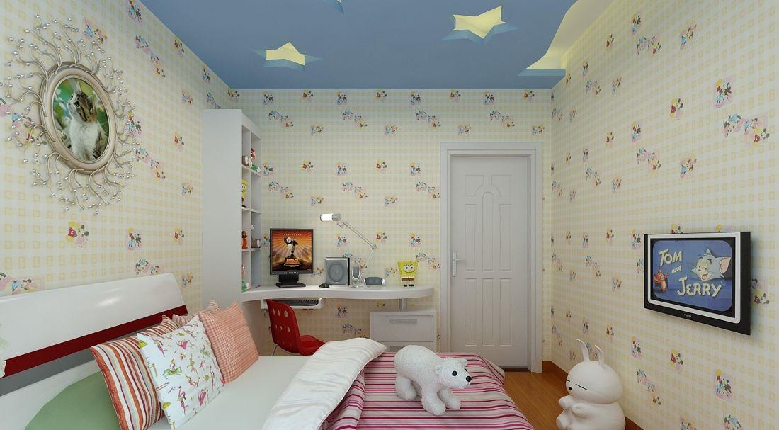 儿童房壁纸选购,儿童房壁纸效果图