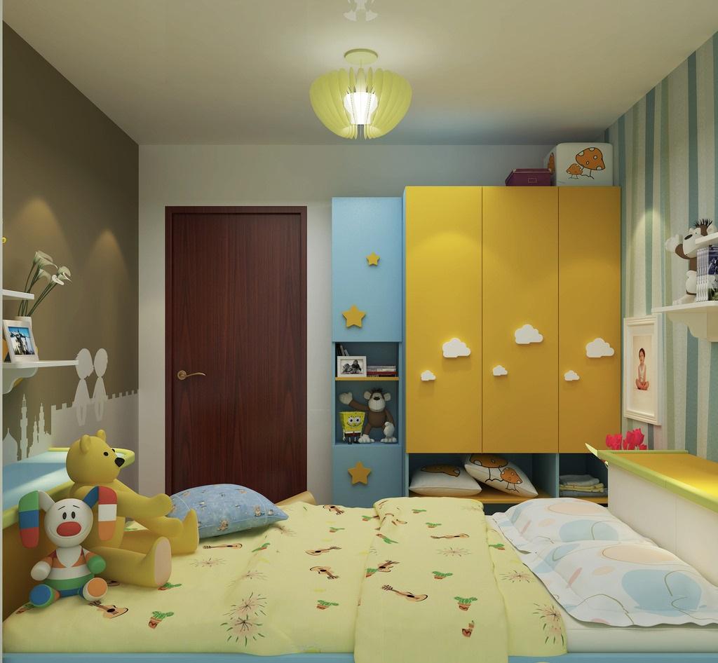 儿童房布置,不同时期不同关注点!
