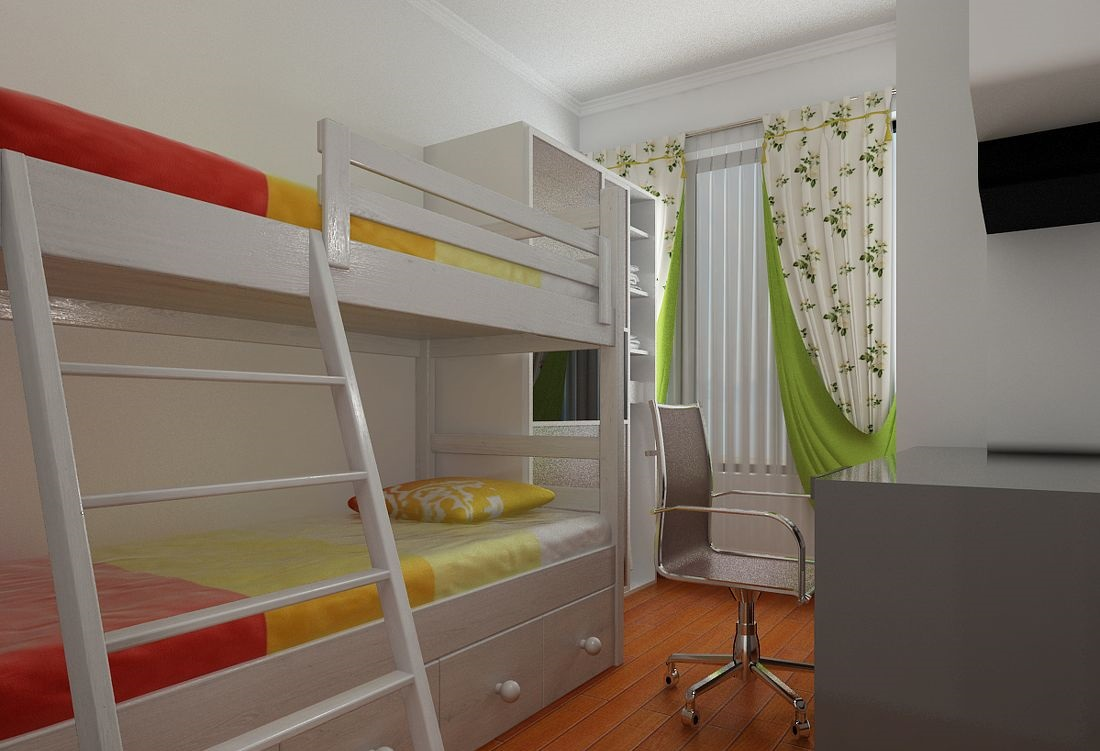 儿童房效果图赏析,儿童房窗帘有哪些?
