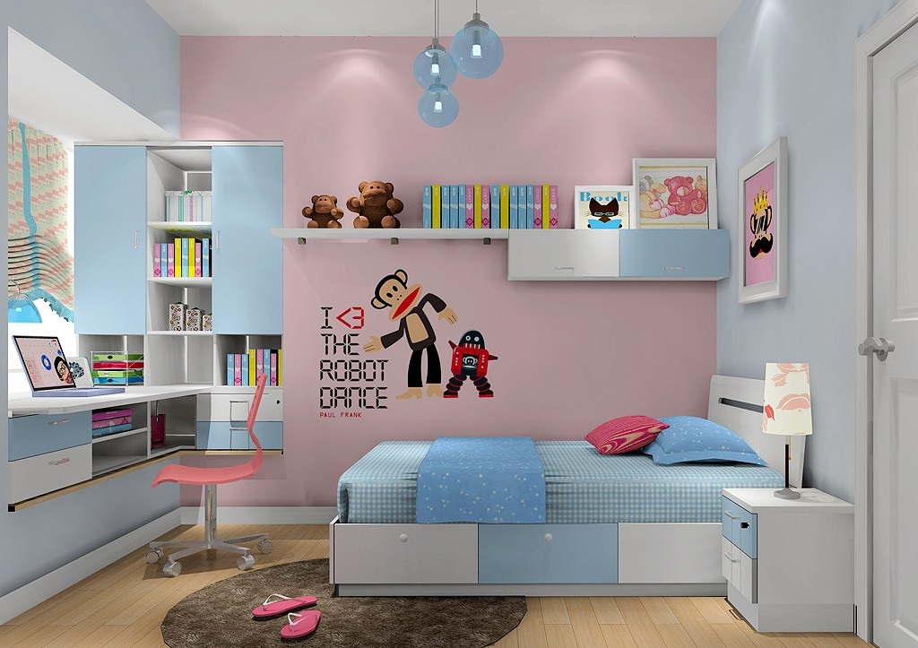 儿童房装修注意点,儿童房装修效果图赏析