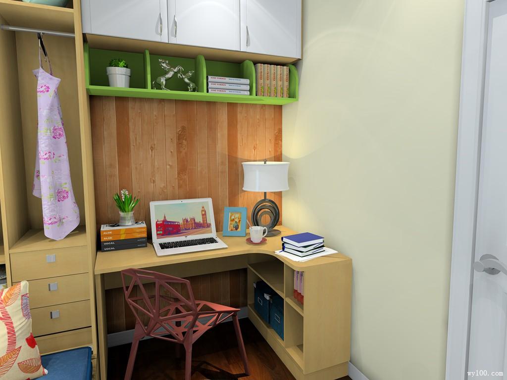 别说房子太小,小书房就该这么造!