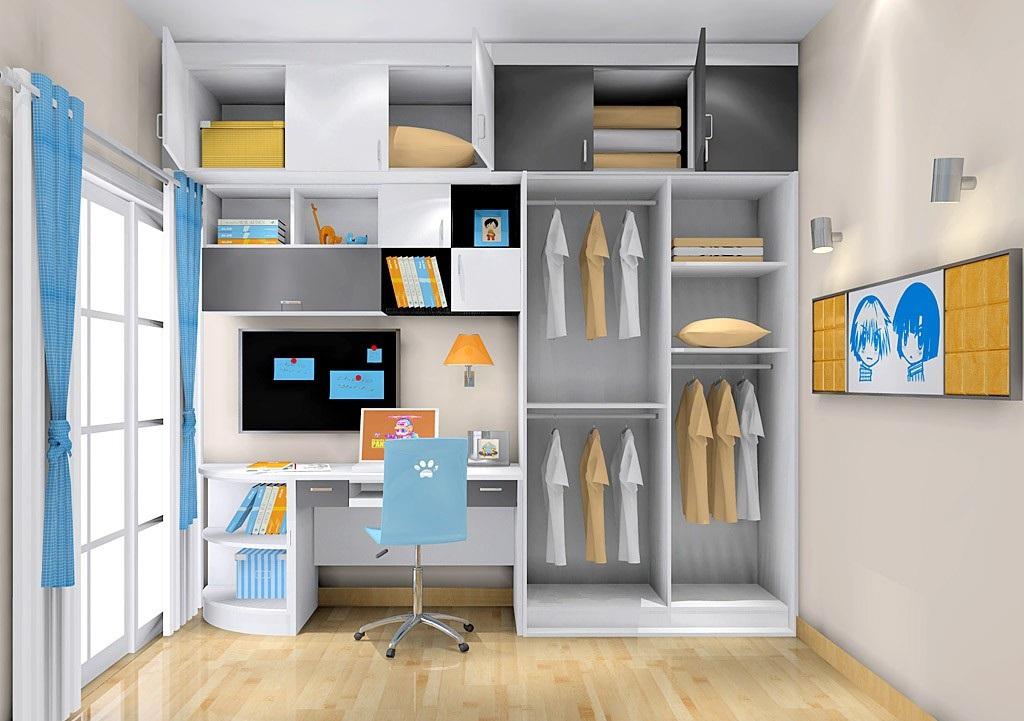 卧室扩容有技巧,衣柜布局有讲究!