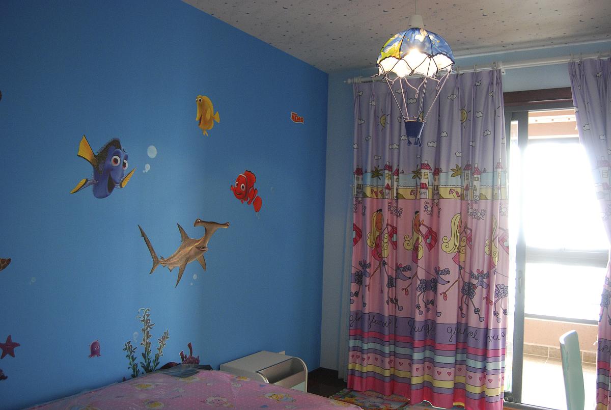 儿童房墙绘图片大全推荐