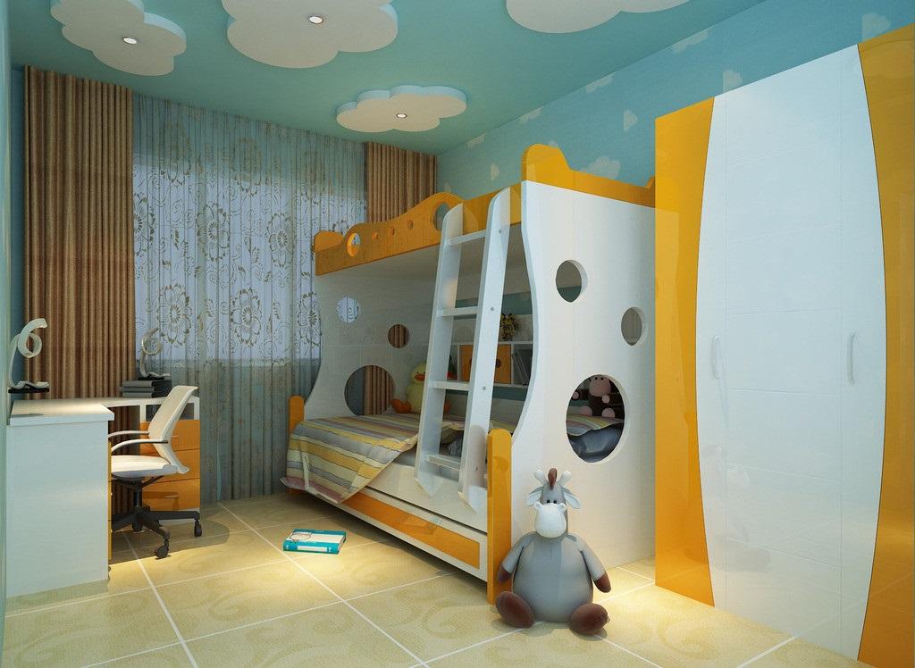 儿童房设计,应该注意事项!