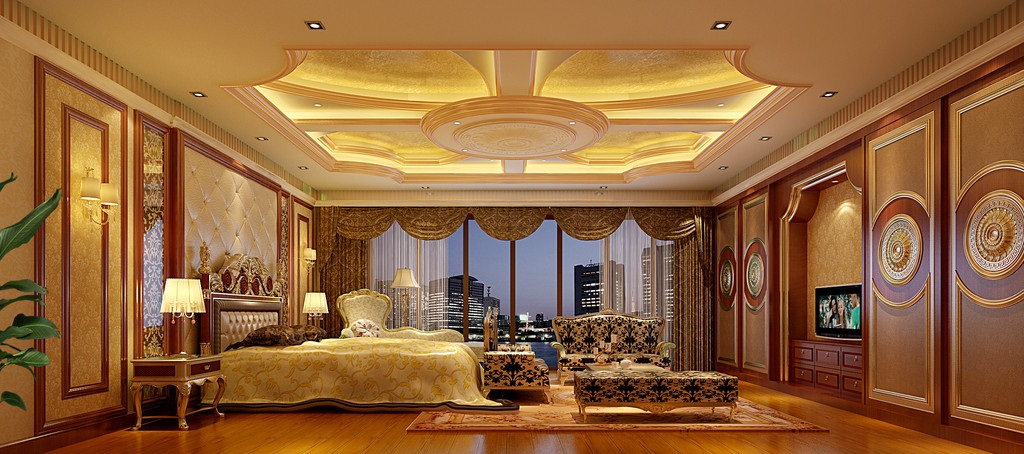 豪华室内装修长什么样?