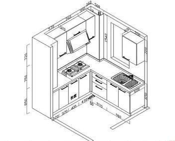 橱柜设计图纸详解