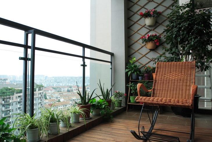 对阳台设计效果图的认识性