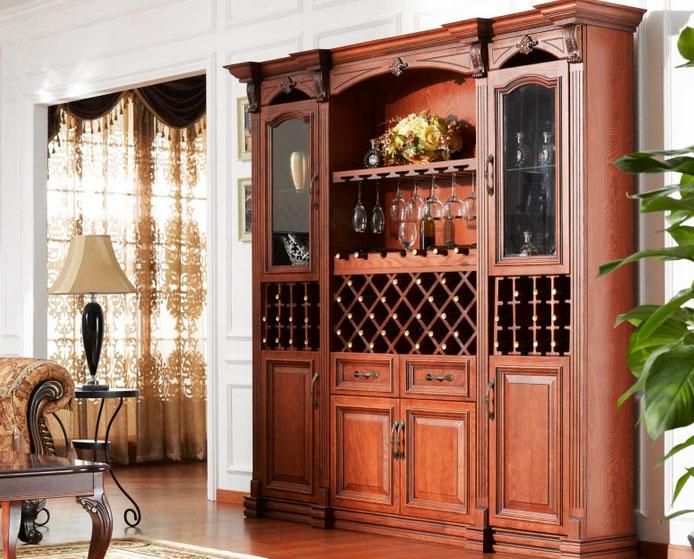 实木酒柜给你不一样的视觉体验