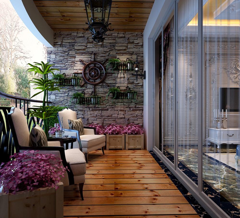 阳台吊顶设计推荐,为家增色不少!