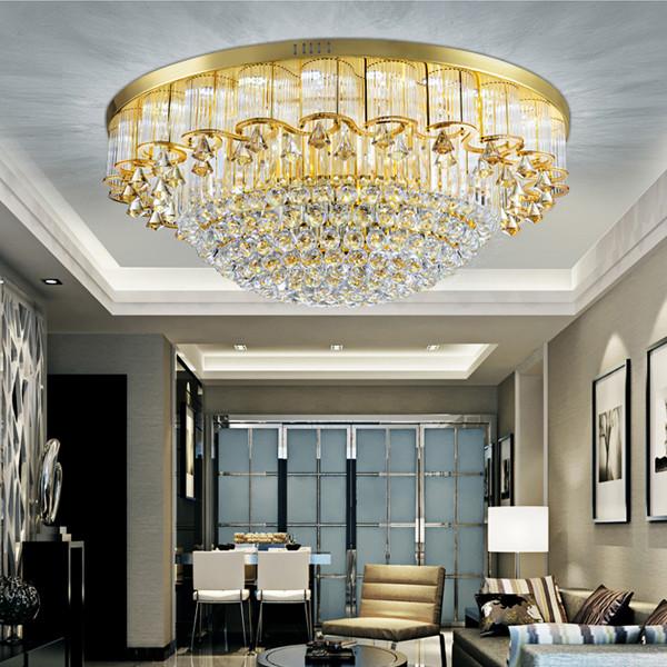 灯具的不同选择――客厅水晶灯