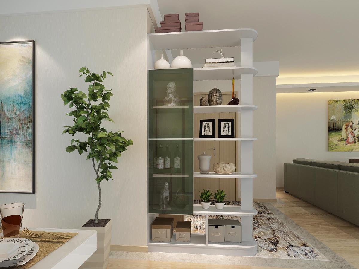 房子有门面,客厅橱柜装饰不能少!