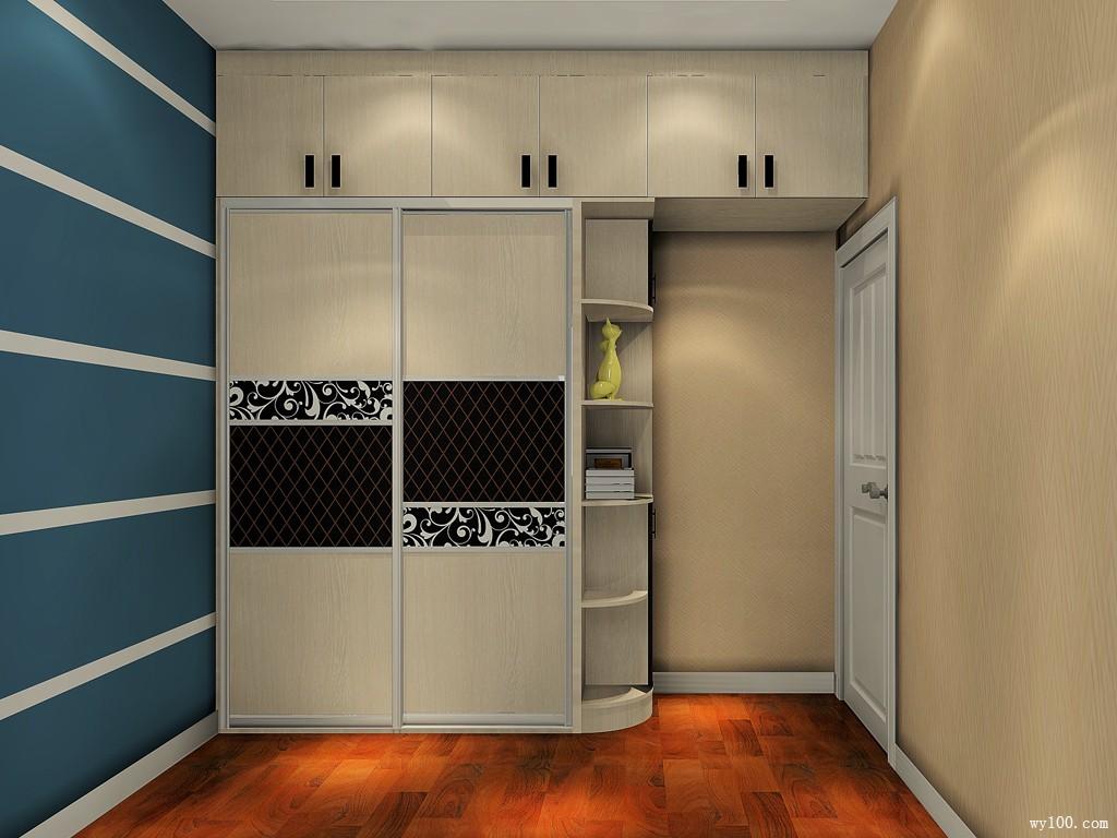 卧室衣柜设计效果图2016新款