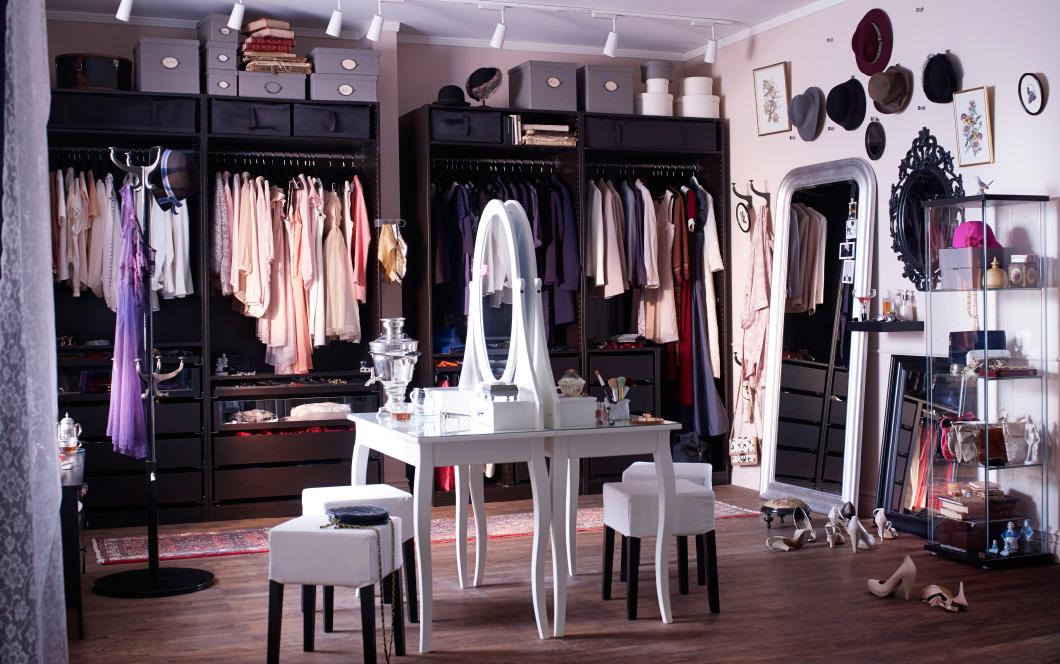 开放式衣柜优缺点,如何设计开放式衣柜?