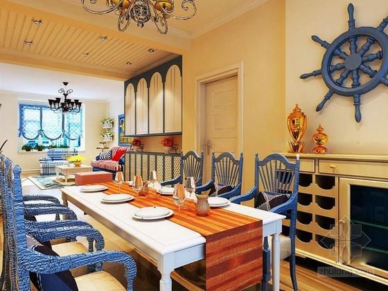 地中海风格室内装修样子-维意定制家具商城