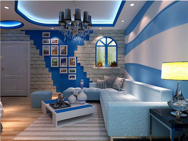 地中海风格室内装修样子