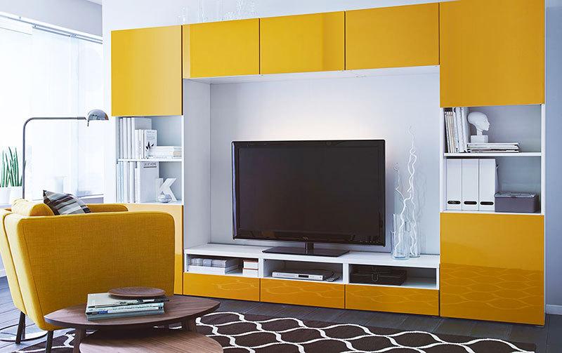 电视柜高度具有不同的风格